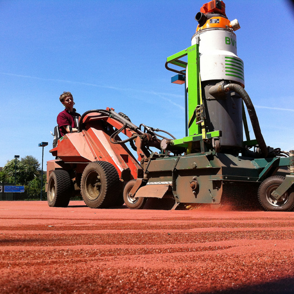 clay tennis court maintenance