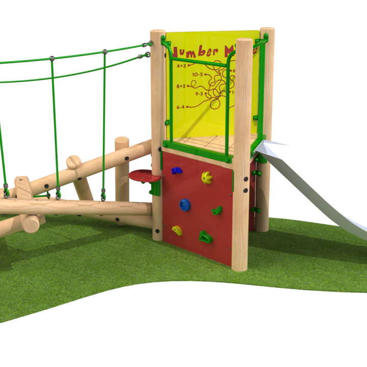 Clamber Stack playground equipment