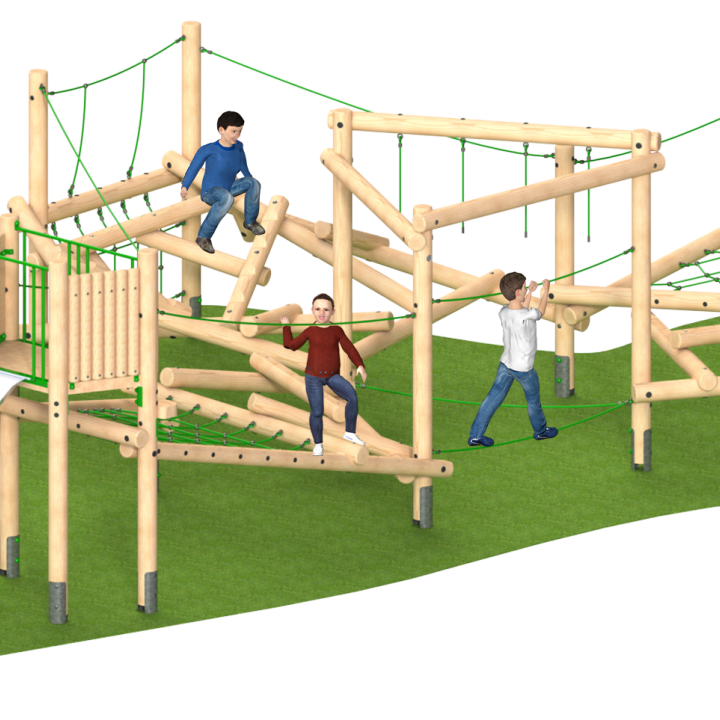 Clamber Stack Playground