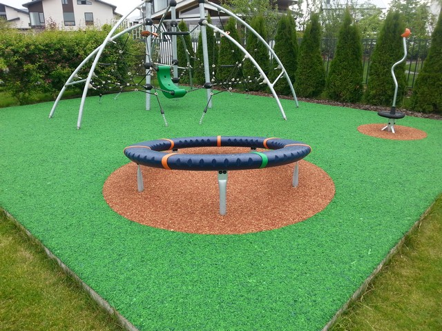 Rubber Mulch Surface Kent